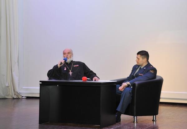 Творческая встреча переменного состава академии с кинорежиссером, протоиереем Александром Новопашиным.